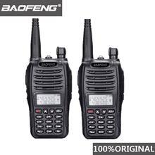 2 шт baofeng uv b6 портативная рация двухстороннее радио двухдиапазонный
