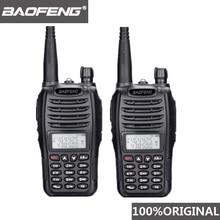2 個 Baofeng UV B6 ポータブルトランシーバー UV B6 双方向ラジオデュアルバンド VHF/UHF Woki 土岐 5 ワット FM 無線トランシーバ