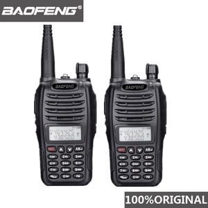 Image 1 - 2 個 Baofeng UV B6 ポータブルトランシーバー UV B6 双方向ラジオデュアルバンド VHF/UHF Woki 土岐 5 ワット FM 無線トランシーバ
