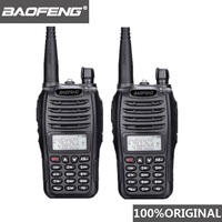 band vhf uhf 2pcs Baofeng UV-B6 Portable מכשיר הקשר UV B6 שני הדרך רדיו Dual Band VHF / UHF Woki טוקי 5W FM משדר רדיו (1)