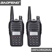 2PCS BaoFeng UV B6 แบบพกพา Walkie Talkie UV B6 วิทยุแบบ Dual Band VHF/UHF Woki Toki 5 FM วิทยุ