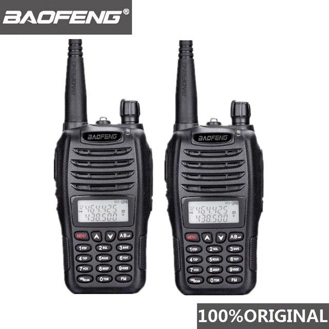 Bộ 2 Bộ Đàm Baofeng UV B6 Di Động Bộ Đàm UV B6 2 Chiều Đài Phát Thanh 2 Băng Tần VHF/UHF Woki Toki 5W FM Thu Phát Vô Tuyến