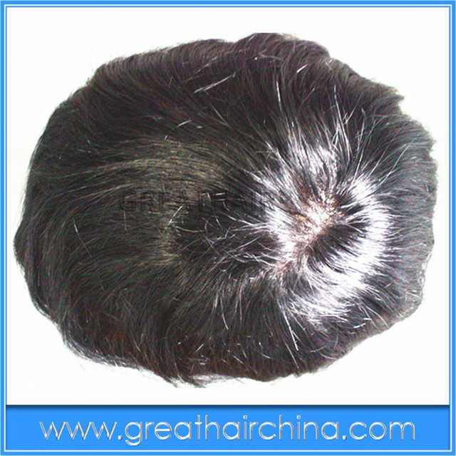 """Queen Wigs-Size 5*8and 6*8and 7*9and10"""" x 8""""  Remy Hair Men Toupee Black Color Swiss Lace + PU Base  Free Shipping Hair System"""