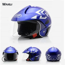 Blue  children motocross ful face helmet motorcycle kids helmets motorbike childs MOTO safety headpiece free shipping