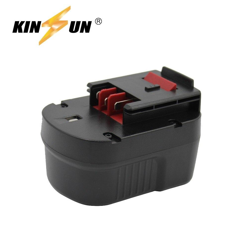KINSUN Replacement Power Tool Battery 12V 2.0Ah for Black & Decker Cordless Drill Screwdriver A12 A12-XJ A12EX A1712 BD12PSKKINSUN Replacement Power Tool Battery 12V 2.0Ah for Black & Decker Cordless Drill Screwdriver A12 A12-XJ A12EX A1712 BD12PSK