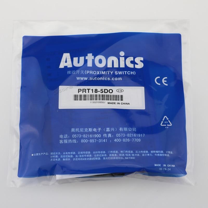 PRT18-5DO  Autonics Inductive Proximity Sensor  12-24VDC