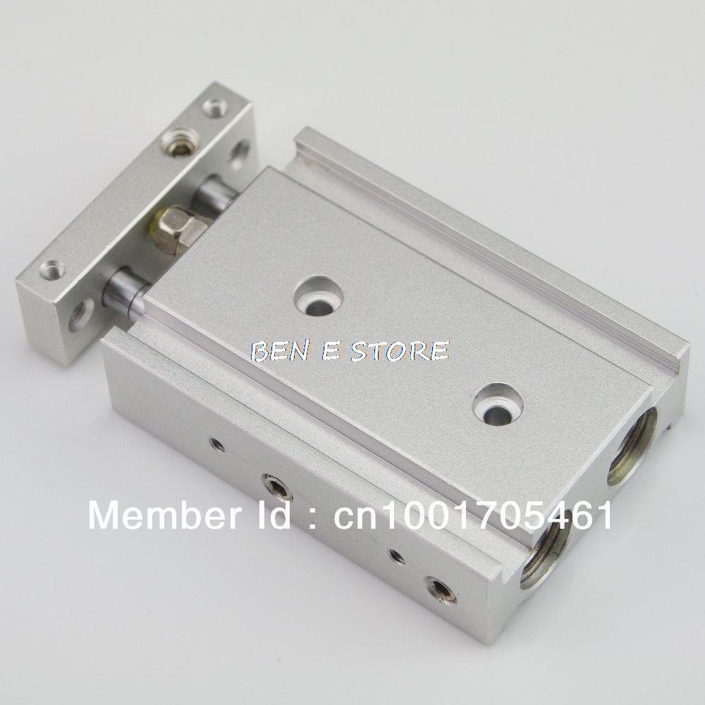 SMC Type CXSM 20-50 Compact Type Dual Rod Cylinder Double Acting 20-50mm Accept custom smc type mini pneumatic cylinder double acting cdj2b10 50 b model 085