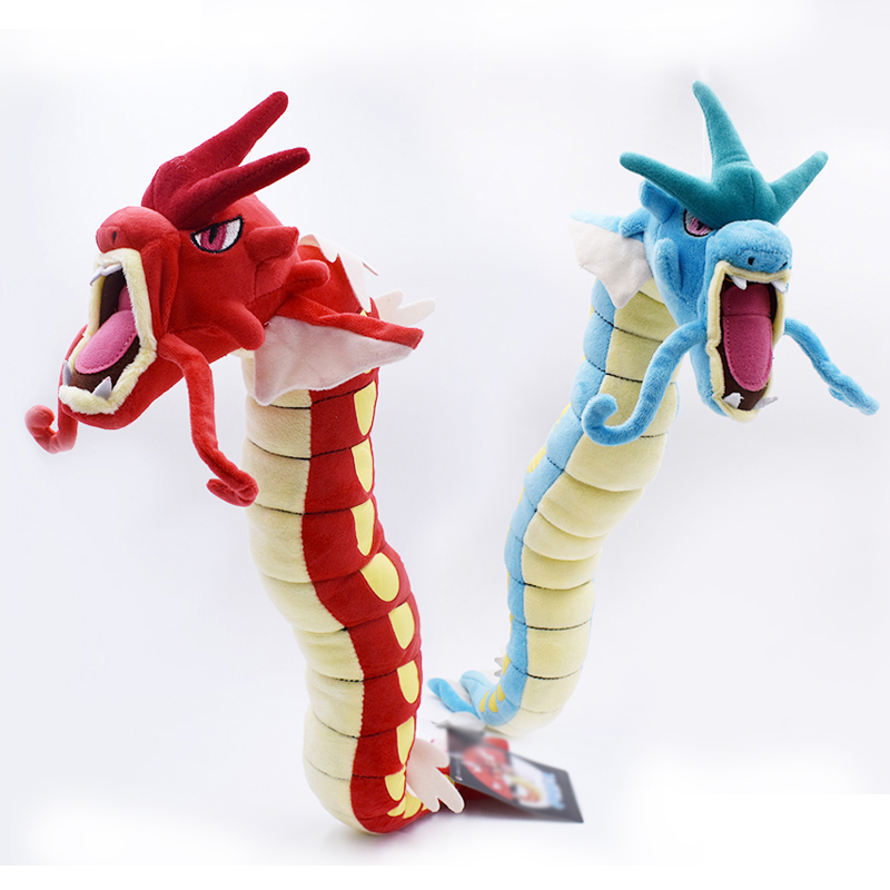 Free Shipping 2 Styles Peluche Gyarados BLUE RED Animal 60CM  Plush Toys Doll Birthday Festival Gift For Kids