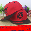 HOT SALE Anime Naruto Konoha symbol silk fabrics baseball cap Christmas sun hat cosplay gift 2016 NEW FASHION