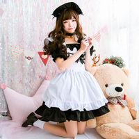 Japanese Harajuku Lolita Dress Girls Soft Sister Anime Cosplay Party Dress Kawaii Cat Sissy Maid Halloween Costumes For Women