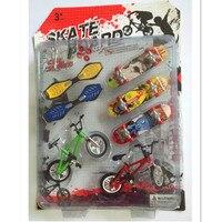 Divertente Bicicletta Skateboard Dito Giocattoli per Bambini, Mini Tastiere Finger Bike Giocattoli Di Compleanno/Regali di Capodanno per I Bambini/adulti