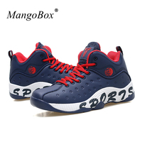 MangoBox Men Basketball Sneakers 2017 Hot Sale Shoes Basketball Men Cheap Boys Girls Basketball Trainers Yellow