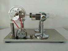 Aire caliente Modelo Del Motor Stirling motor Generador Educación Toy Kits Electricidad LED de Colores Sc001