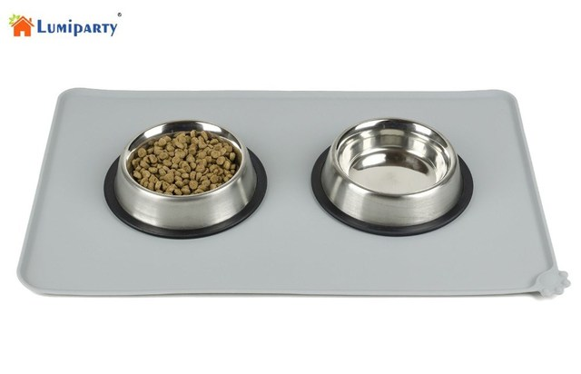 Lumiparty Fda Grade High Quality Silicone Pet Food Mat Waterproof