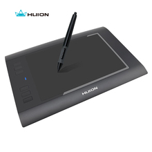 Buy Promotion Huion Digital Pen Tablets H58L 8″x5″ 2048 Levels Professional Drawing Tablets High Quality Best Price Black And  White
