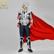 Custom Made Movie Thor Costume Avengers Age of Ultron Hawkeye cosplay Suit Adult Men's Halloween Carnival Cosplay Costume sale
