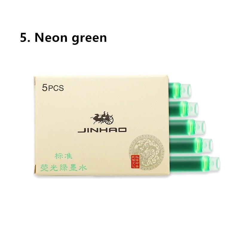 -5 neon green