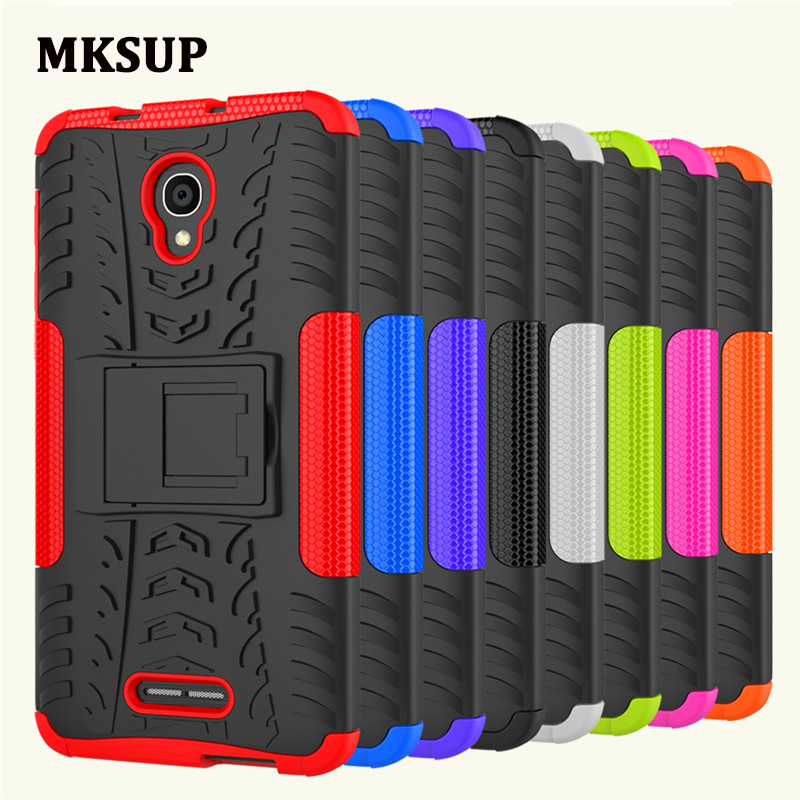 <font><b>Alcatel</b></font> One Touch Pop 4 Plus 4+ <font><b>5056D</b></font> Anti-Knock Case Hybrid Kickstand Back Cover Hard Case for <font><b>Alcatel</b></font> Pop 4 Plus 5056 5056M image