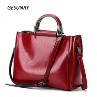 Fashion Leather Handbags Big Women Bag High Quality Casual Tote Bags Vintage Women Shoulder Bag Large