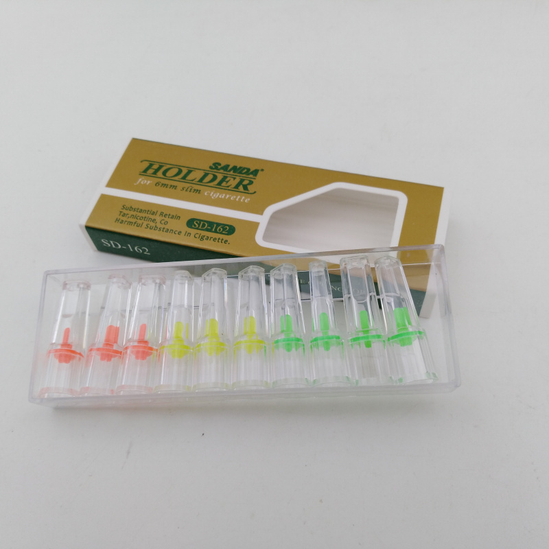 240pcs Reduce Tar And Nicotine Cigarette Filters Disposable Cigarette Holder For 6mm Slim Size Woman And Men Cigarette sd162 in Cigarette Accessories from Home Garden