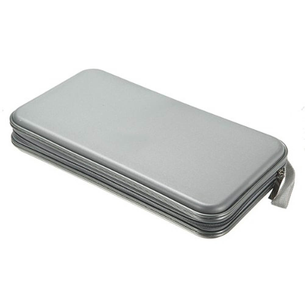 Hot Sale 80 Disc DVD CD Long Large Capacitance Storage Wallet Holder Bag Case Album Box Plastic Convenience Storage BagBS