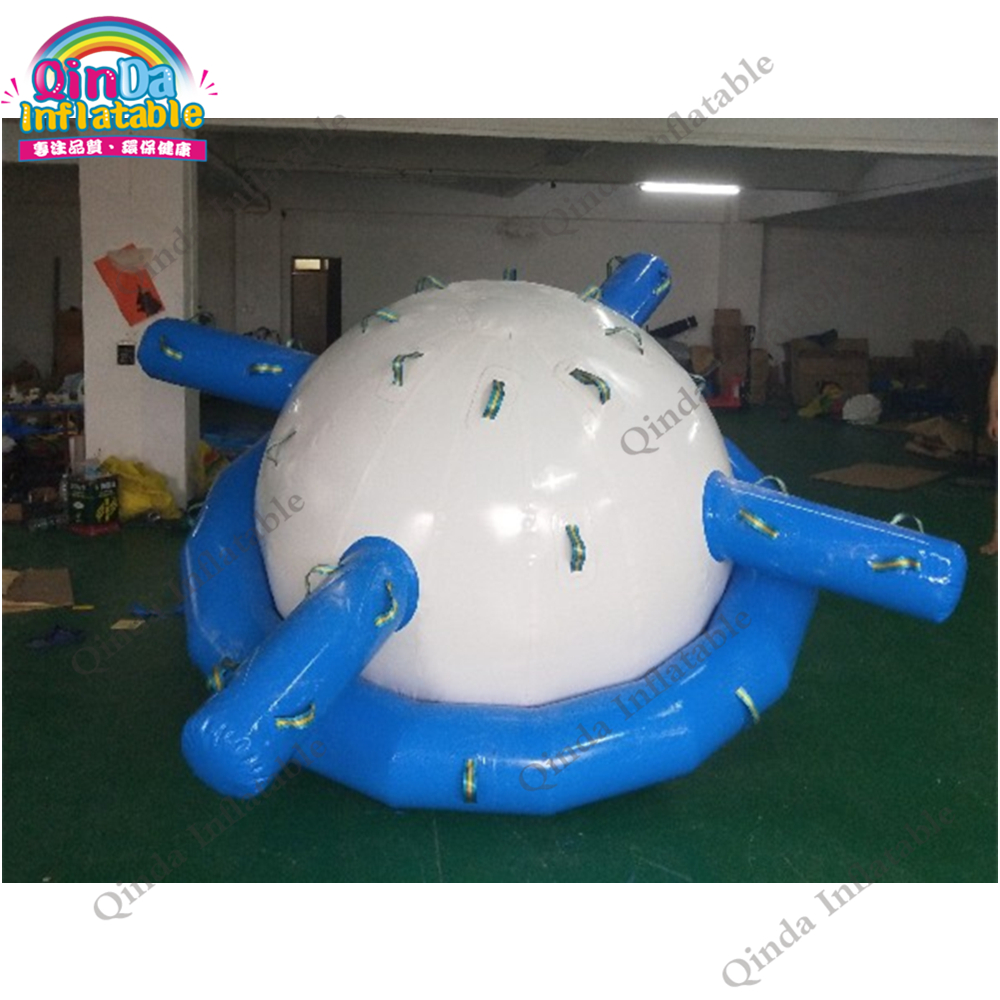 Human size water saturn toy inflatable seesaw rocker 0.9mm pvc inflatable water spinner toy for kidsHuman size water saturn toy inflatable seesaw rocker 0.9mm pvc inflatable water spinner toy for kids