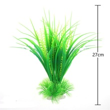 Hot New27cm Eco Lovely Green 40cm Artificial Simulation Water Plants for Fish Tank Aquarium Decor accessories Acuarios