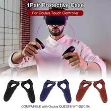 Capa protetora Da Pele de Silicone Para Controlador de Controlador de Toque Busca Oculus Rift Oculus-s