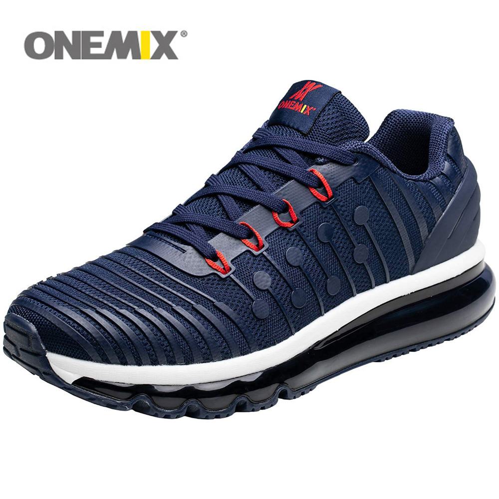 e7bf7ed279d ONEMIX Men Running Shoes For Women Air Cushion 97 KnItting Gym Fitness  Outdoor Sneakers Max 12
