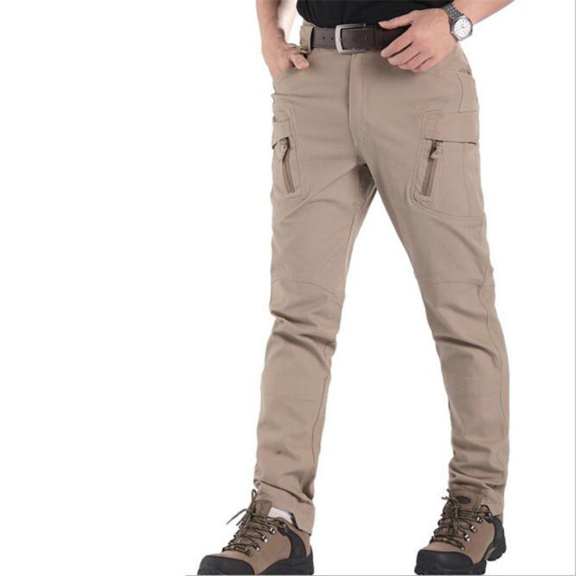 IX9 Militar Tactical Cargo Pants Men Combat SWAT Army Train Military Pants Casual Cotton Paintball Hunt Hike Outdoors Trouser