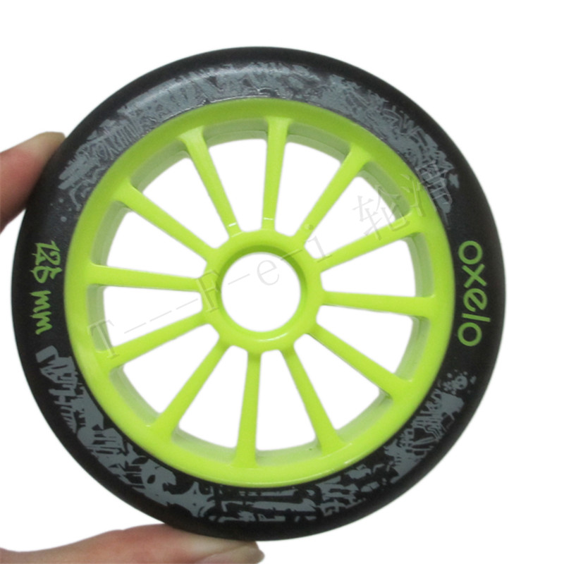 125mm Inline Speed Skates Racing Wheel with 86A Durable PU Marathon Competition Skating Wheels for Powerslide