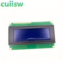 5pcs/lot LCD Board 2004 20*4 LCD 20X4 5V Blue screen blacklight LCD2004 display LCD module LCD 2004 for arduino
