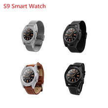 NO.1 S9 Business Fashion Bluetooth Smart Watches with Heart Rate Monitor For Android IOS Phone NFC Wearable Devices Smartwatch
