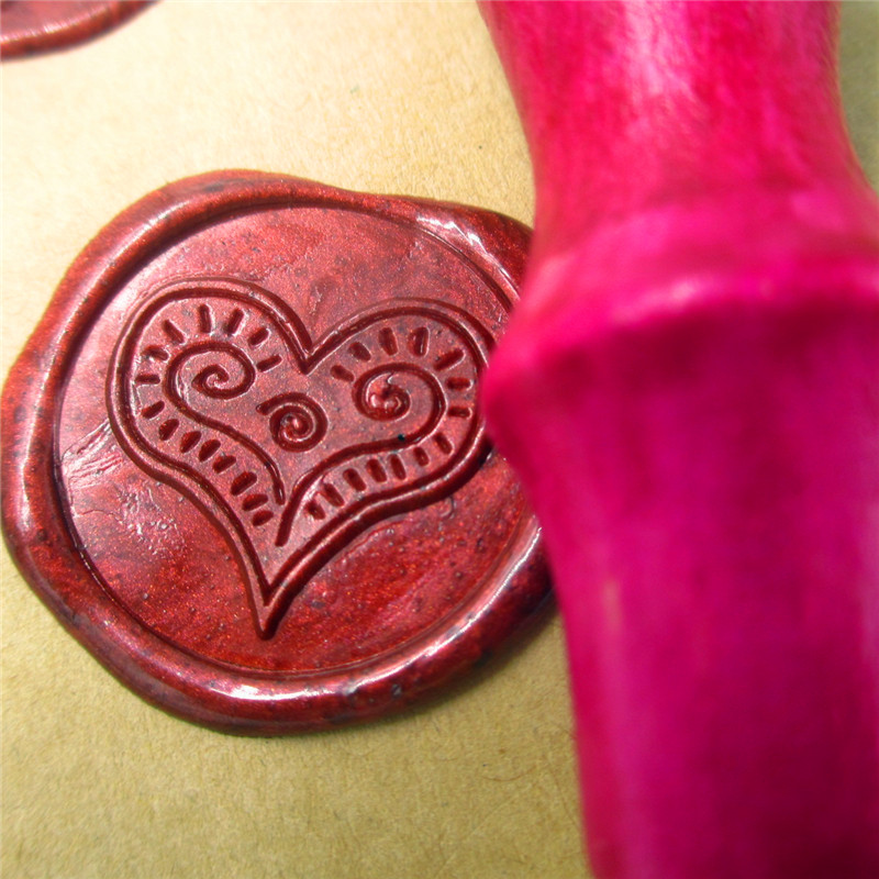 Love heart Initials design customize your logo Name Box set personalized Letter/Sealing Wax /wedding Wax Seal Stamp Gold  Custom design your own initials customize logo name box set personalized letter sealing wax wedding wax seal stamp gold plated custom