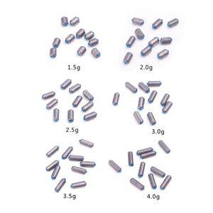 Image 2 - 10 pièces plomb pêche pesée carpe poisson Sport attirail outil pour athlétique rapide utilisé