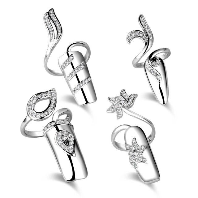 line Shop new design la s finger gold ring silver smart ring