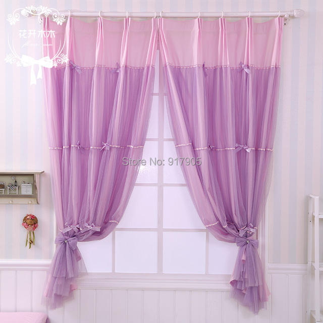 Elegant Purple Bedroom Curtains Romantic Lilac Curtains For Living Room Designer  Home Goods Curtains Modern Window