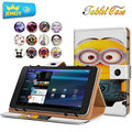 8inch Universal Tablet Leather Case For Alcatel Onetouch Pop 8 8S/Alcatel Onetouch Pixi 3 3G Tablet cover Printed Stand cases