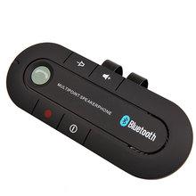 kebidumei Hot Sell Wireless Car bluetooth Slim Magnetic handsfree kit music reciever transmitter SIRI function Speaker for Phone