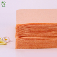 30X30CM Skin Color DIY Felt Cloth 1MM Thick Polyester Nonwoven Solid Color Felts Fabric For Handmade