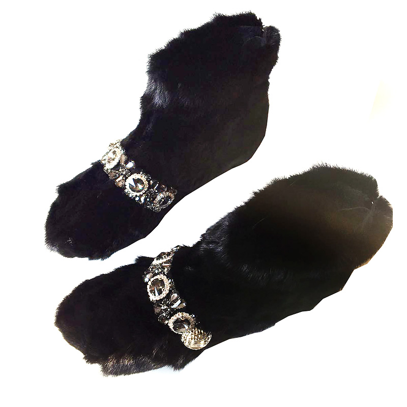 Piel camel Caliente Plano Tacón Nieve Nuevo Invierno Negro Lujo Moda gris Las Tobillo Botas Mujeres Zapatos 2018 verde Mujer Otoño De WRq0W1r