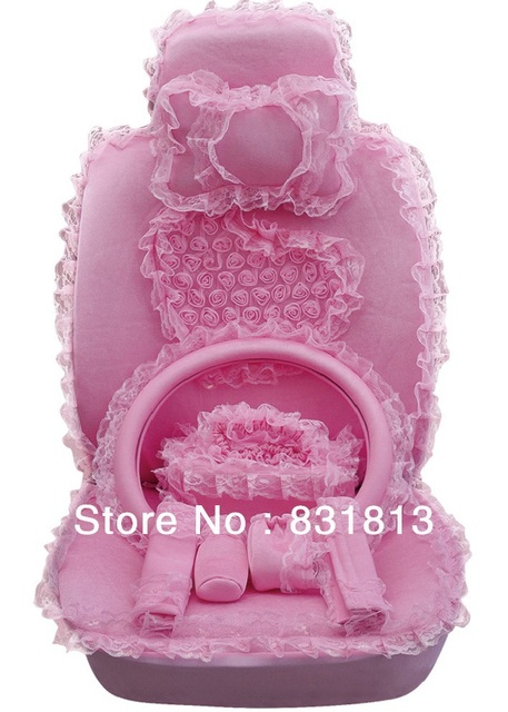 Car Seat Covers Pink Princess