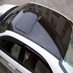40CM X 152CM czarny folia winylowa uniwersalny dla samochodów łodzie telefony biurowe laptopy ciężarówka Off Road gitara arkusz naklejki DIY Protector na