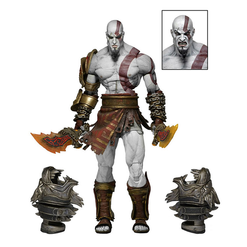 Toys & Hobbies Anime 1/8th Scale God Of War Kratos Ghost Of Sparta Variant Action Pvc Figure Toy Brinquedos 18cm Punctual Timing