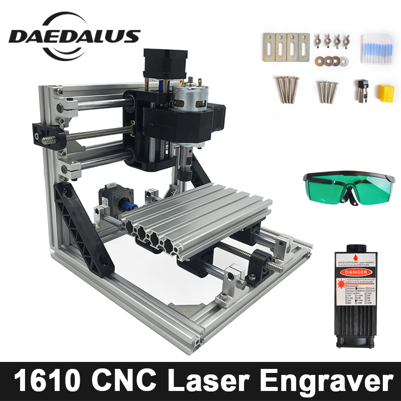 CNC 1610 With ER11 Diy Laser Engraver Machine, Mini Engraving,Pcb PVC Milling Machine,Wood Router,CNC 1610,Best Advanced Toys цена