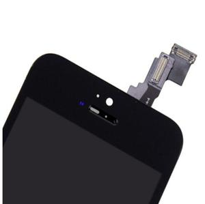 Image 4 - شاشة LCD كاملة أو شاشة تجميع كاملة لهاتف آيفون 5 5G 5s 5C أو لهاتف آيفون 6 6s بدون زر الصفحة الرئيسية وكاميرا أمامية