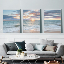 Modern HD Print Wall Art Canvas Sunset Seascape Painting For Home Decor Decoration Picture Living Room Oil No Frame