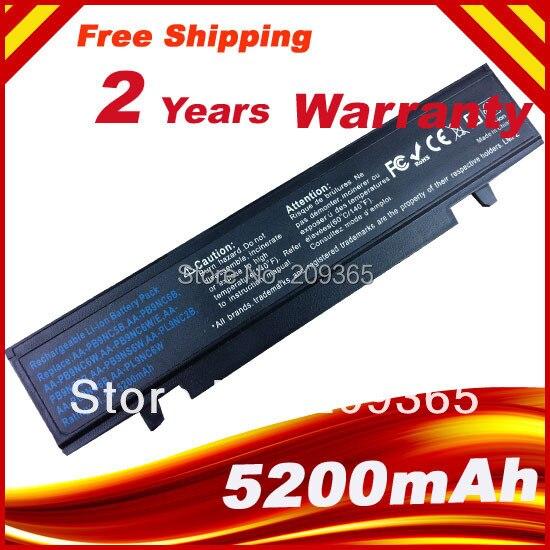 5200 mah Rechargeable Li-ion Batterie Pour SAMSUNG R420 R418 R469 R507 R718 R720 R728 R730 R780 R518 R428 R425 R525