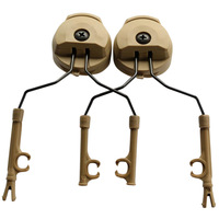 1 paar Kopfhörer Halterung Headset Halter Helm Rail Adapter Durable Zubehör 88 B2Cshop