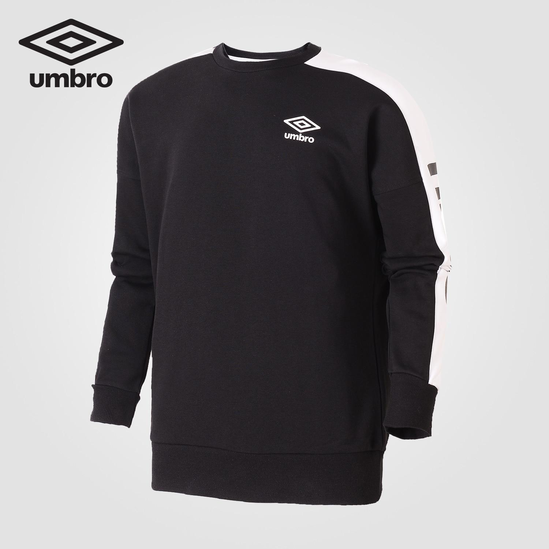 Umbro Sport Womens Training Top Black Crew Neck Long Sleeve Sweatshirt Football